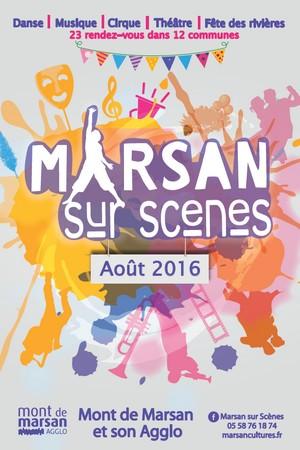 image : Visuel Marsan sur scène 2016