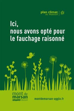 image : Affiche Fauchage raisonné